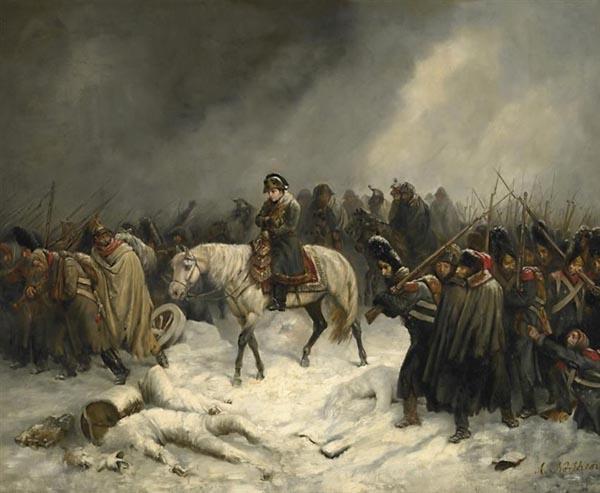 Отступление Наполеона из Москвы Адольф Нортерн