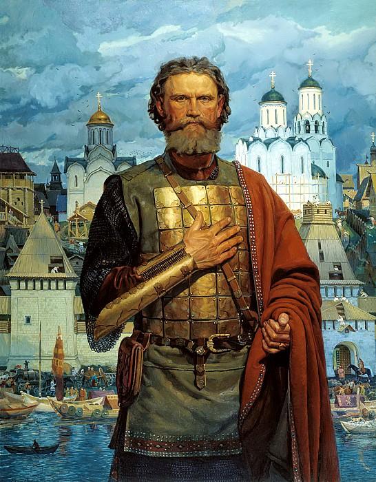 Виктор Маторин. Святой правоверный Великий князь Московский Дмитрий Донской, 2004