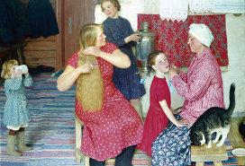 Картина советского художника Юрия Кугача в Субботу