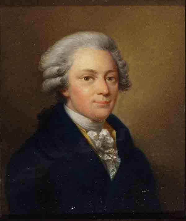 Йозеф Грасси. Портрет В.А. Моцарта