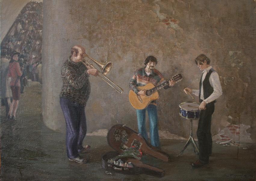 Музыканты в переходе