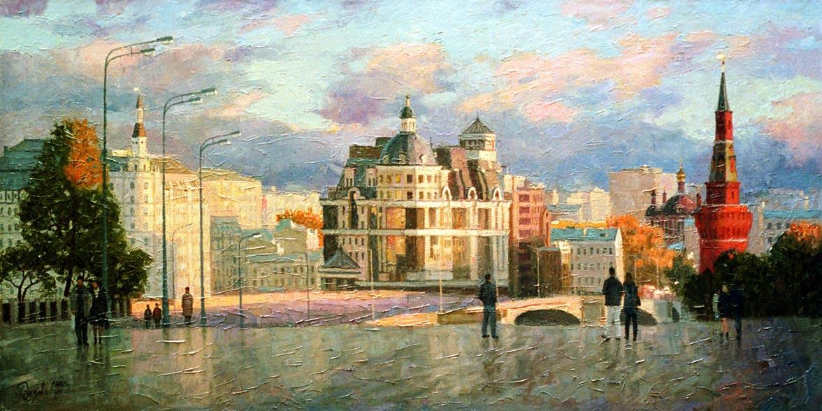 Игорь Разживин. Вид с Красной площади, 2001