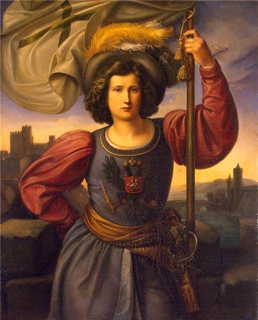 Филипп Фейт. Аллегория России, 1840