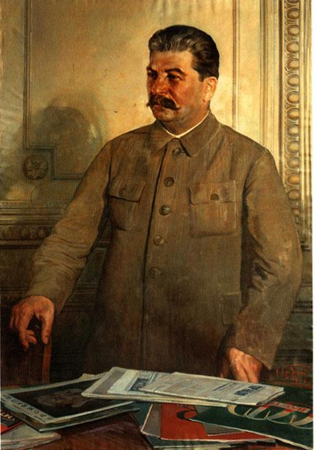 Исаак Бродский Сталин в Кремле