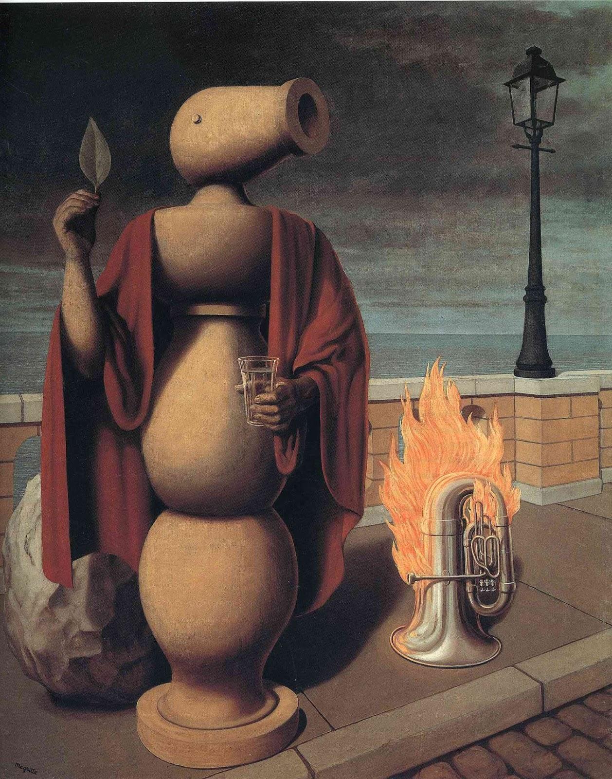 Рене Магритт - Права человека, 1947