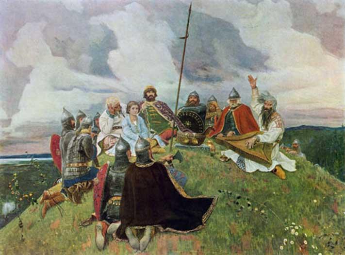 Виктор Васнецов Баян