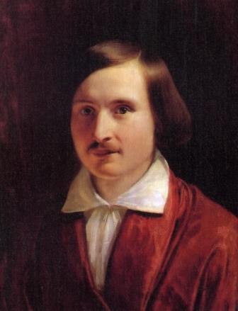 Портрет Гоголя работы Ф.А. Моллера