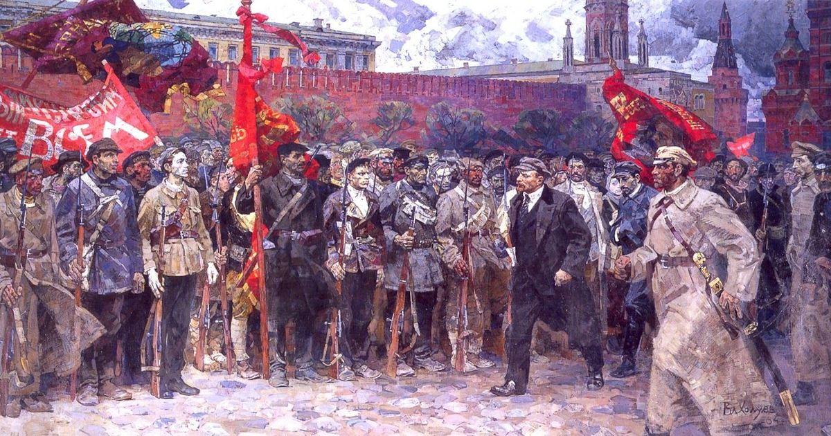 Владимир Холуёв. Солдаты революции