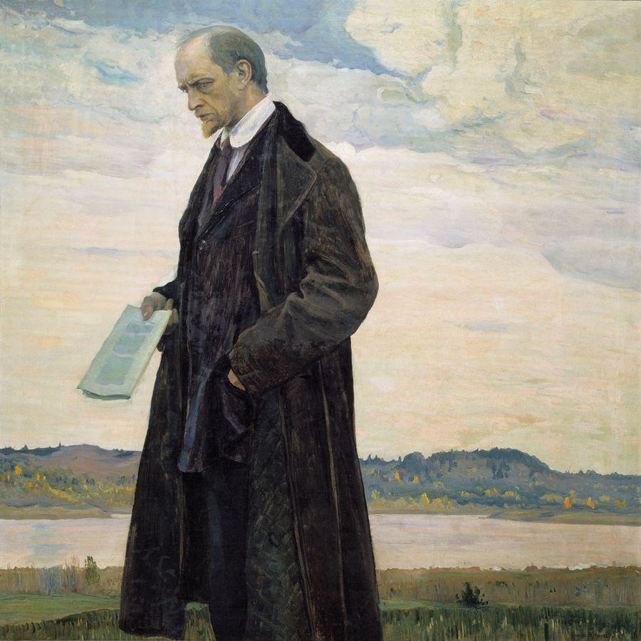 Михаил Нестеров Мыслитель. Портрет философа И.А. Ильина