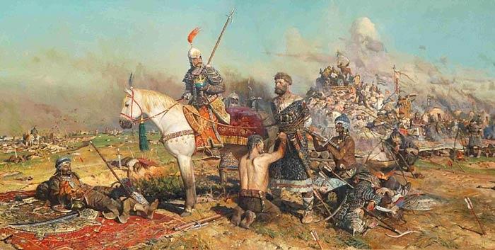 П. Рыженко Битва при Калке