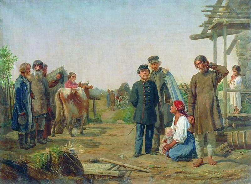 Алексей Иванович Корзухин Сбор недоимок