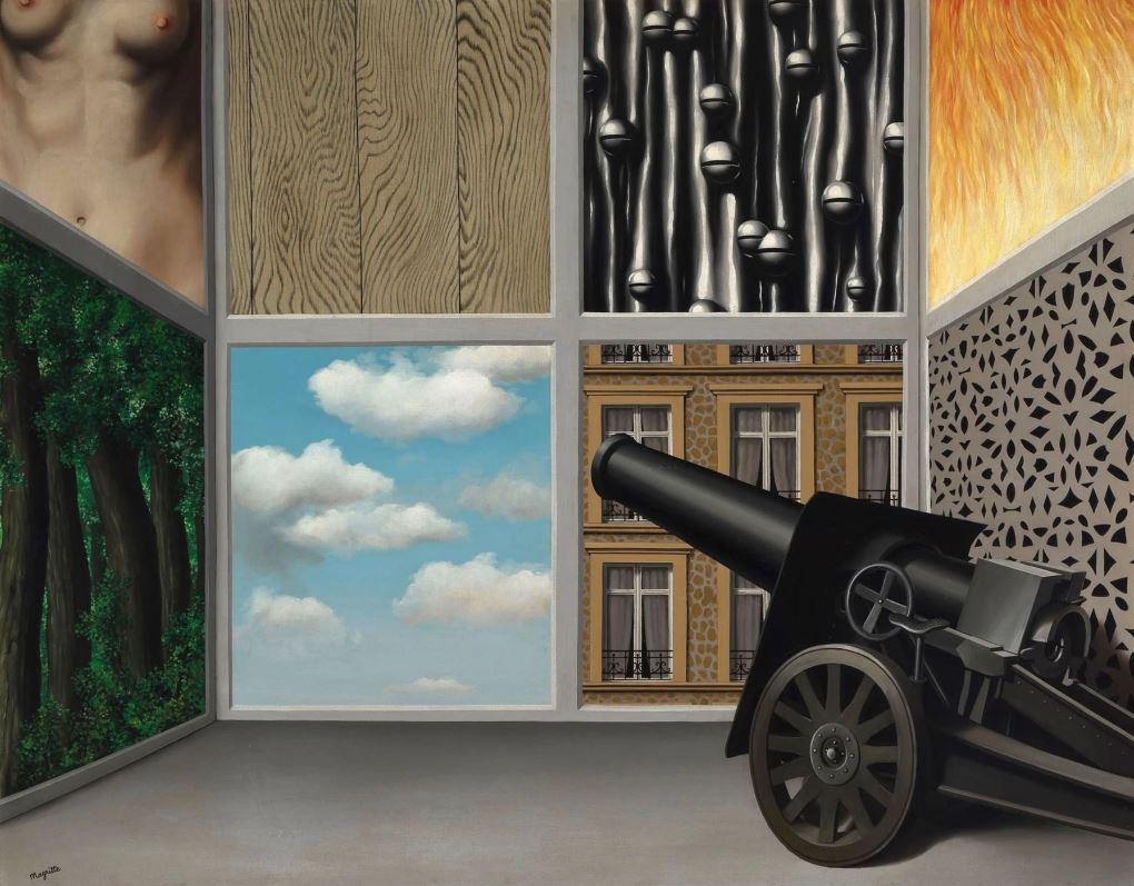 Рене Магритт - На пороге свободы, 1930