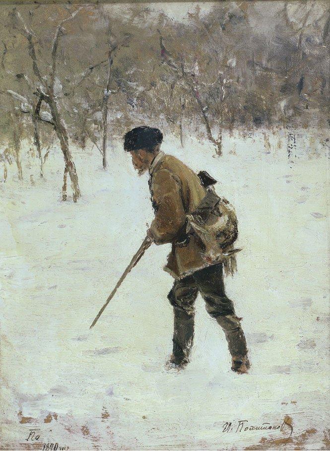 Иван Похитонов Охотник зимой