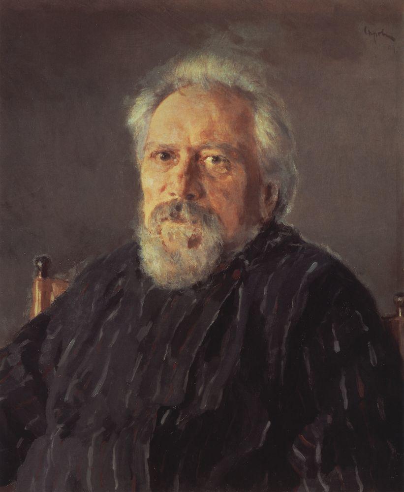 Валентин Серов Портрет писателя Николая Лескова