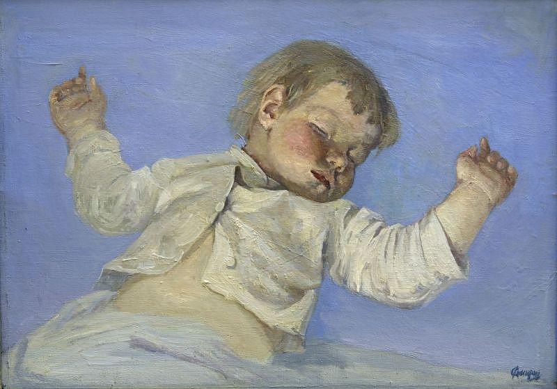 А.М. Смирнов Спящий младенец