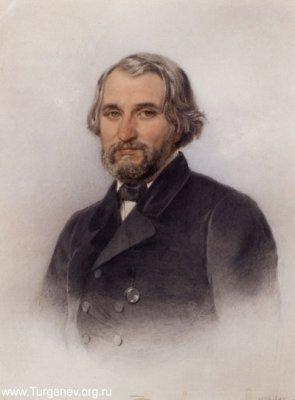 "А.П. Никитин ""Портрет И.С. Тургенева"", 1857"