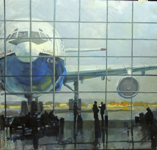 Софья Басова В аэропорту
