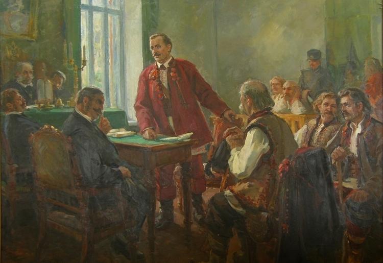 Очеретько Я.Е. Федькович в суде