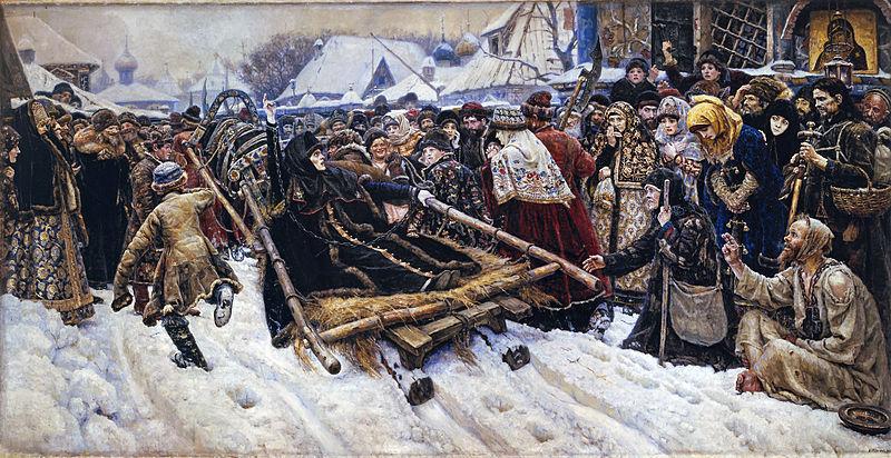 Василий Суриков Боярыня Морозова