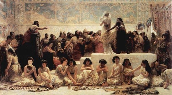 Эдвин Лонг Ярмарка невест в Вавилоне