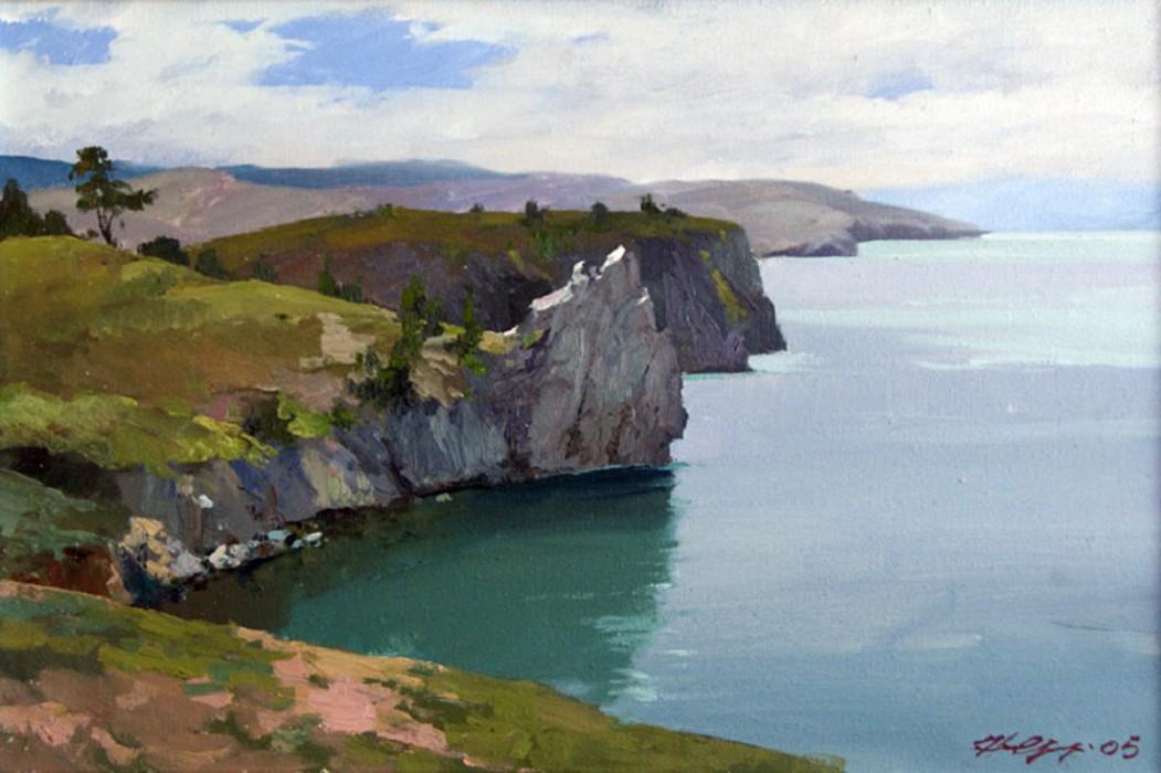 Н.К. Орлов Байкал (остров Ольхон)