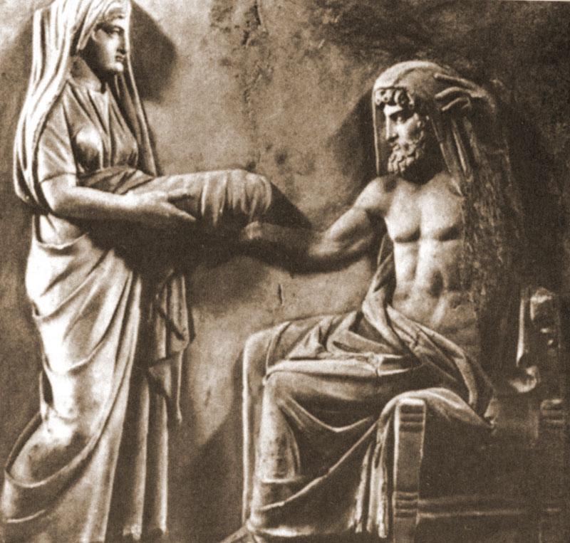 Рея дает Крону камень