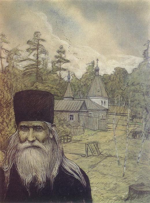 Илья Глазунов Оптина