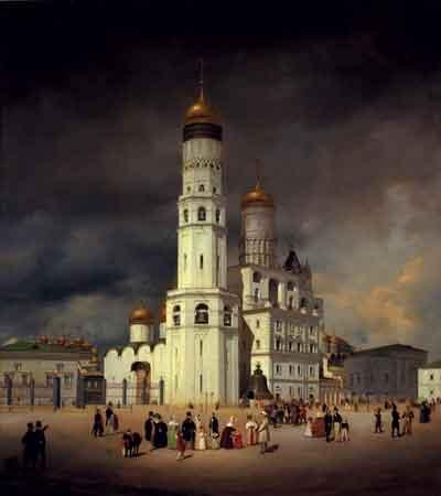 Гертнер Э. Ивановская площадь в Московском кремле