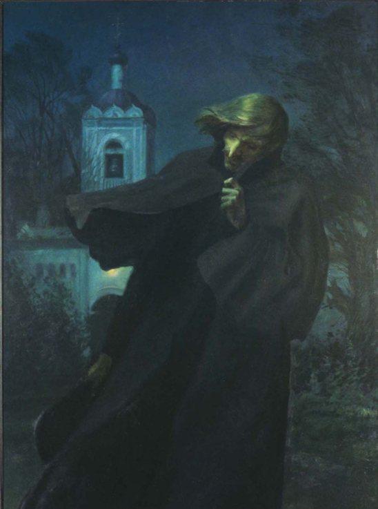Дмитрий Карпухин Гоголь в Оптиной пустыни