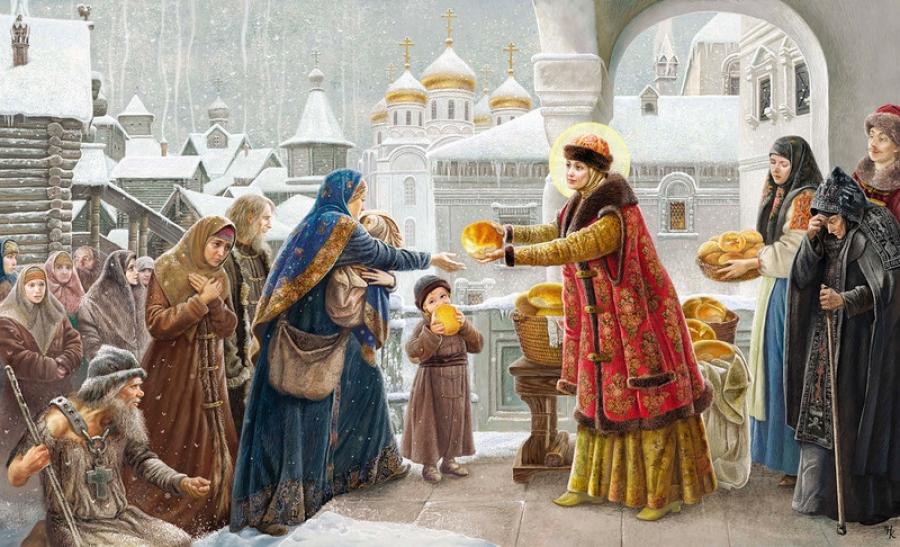 Наталья Климова. Святая праведная Иулиания Лазаревская, Муромская