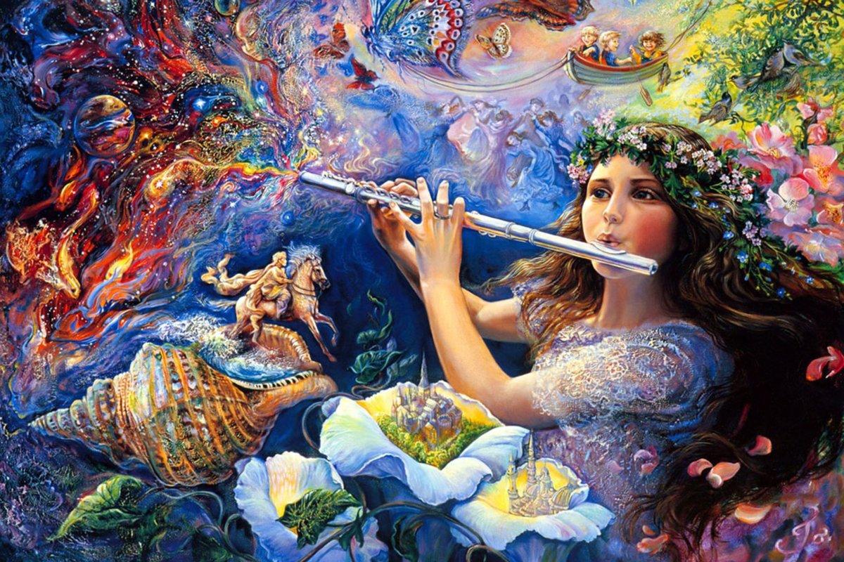 Жозефина Уолл. Волшебная флейта