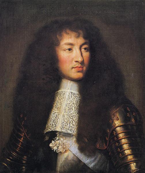 Шарль Ле Брюн Портрет Людовика XIV