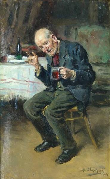 Владимир Маковский Пьяница