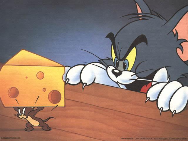 Кадр из м/ф Том и Джерри