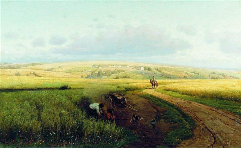 Владимир Орловский Костер в поле