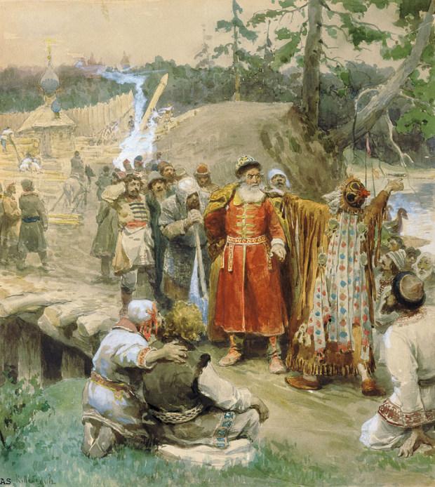 К.В. Лебедев Освоение русскими новых земель