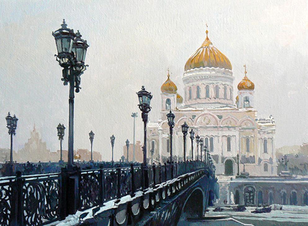 Эдуард Панов Храм Христа Спасителя