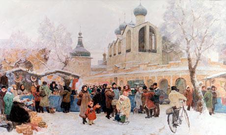Александр Косничев Ярмарка в Ростове Великом