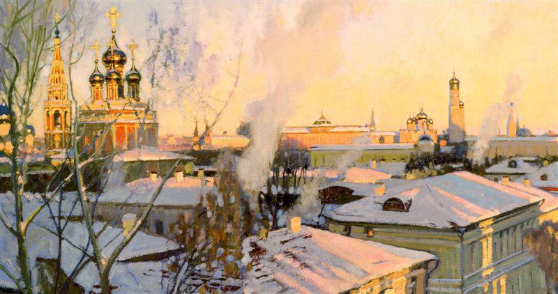 Сергей Смирнов Москва. Звенит, занимается день. (фрагмент)
