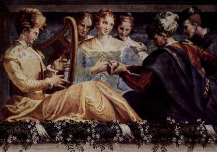 """Николо дель Аббате """"Концерт"""", ок. 1550"""
