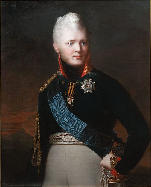 Жан-Лоран Монье. Портрет императора Александра I. 1806 (?)