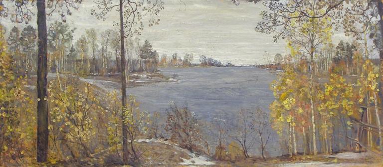 Бродский И.И. Золотая осень. Осенний пейзаж