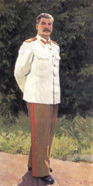 Александр Бубнов. Портрет И.В. Сталина, 1949