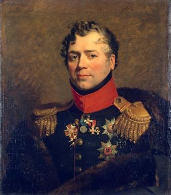 Джордж Доу Портрет Дмитрия Владимировича Голицына