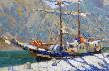 Яхта Почайна