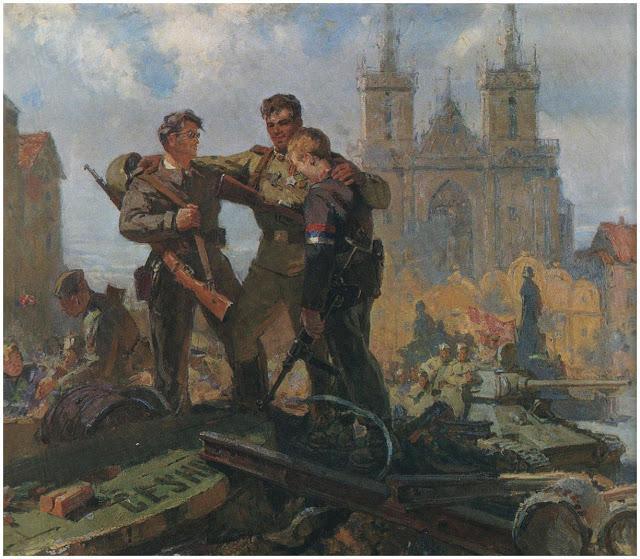 Аркадий Иванович Интезаров Освобождение златой Праги