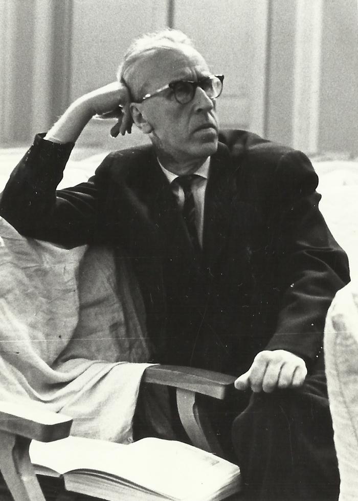 Дмитрий Борисович Кабалевский на 4-м конкурсе городов Поволжья, 1968