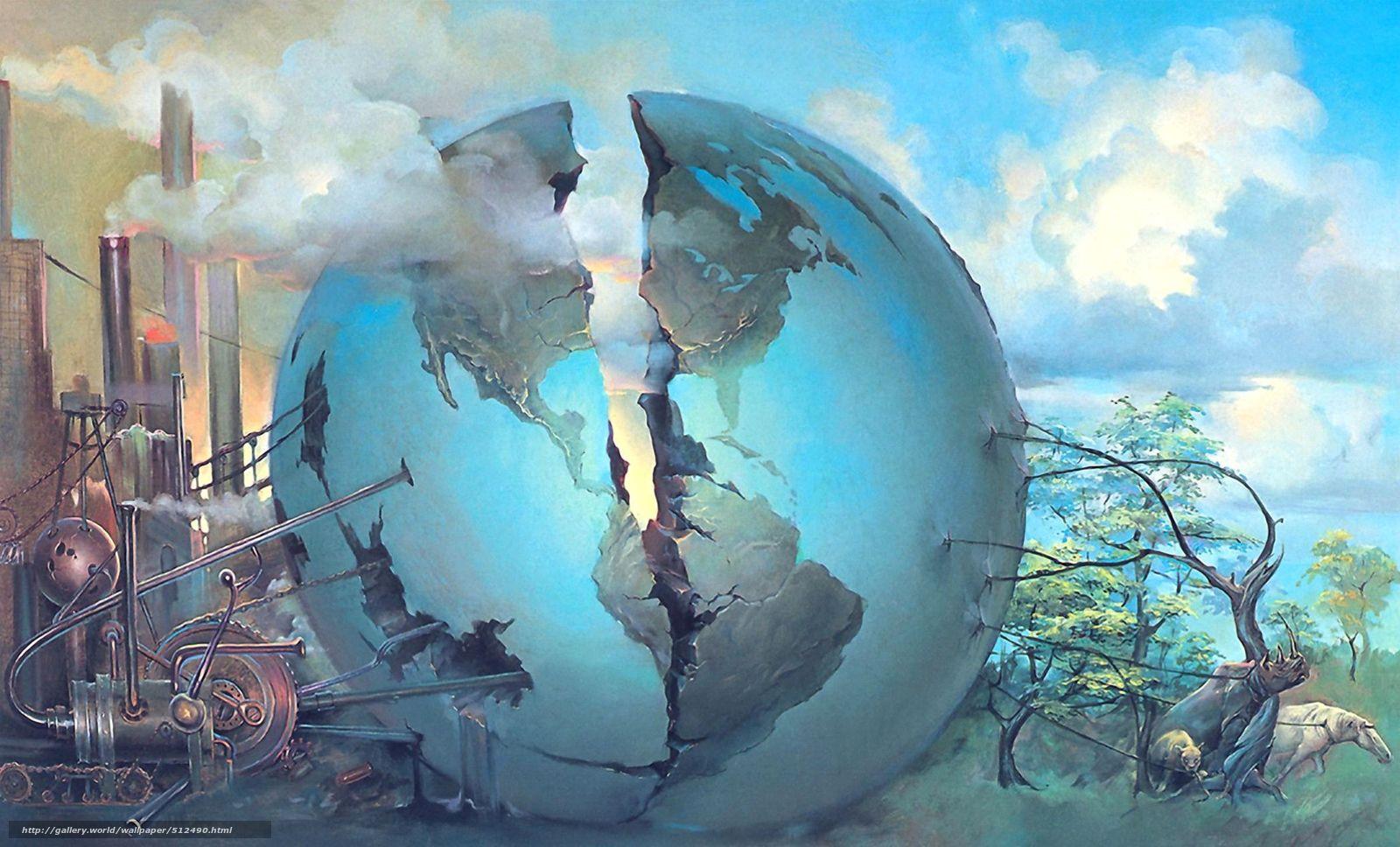 Джон Питр. Расколотый мир