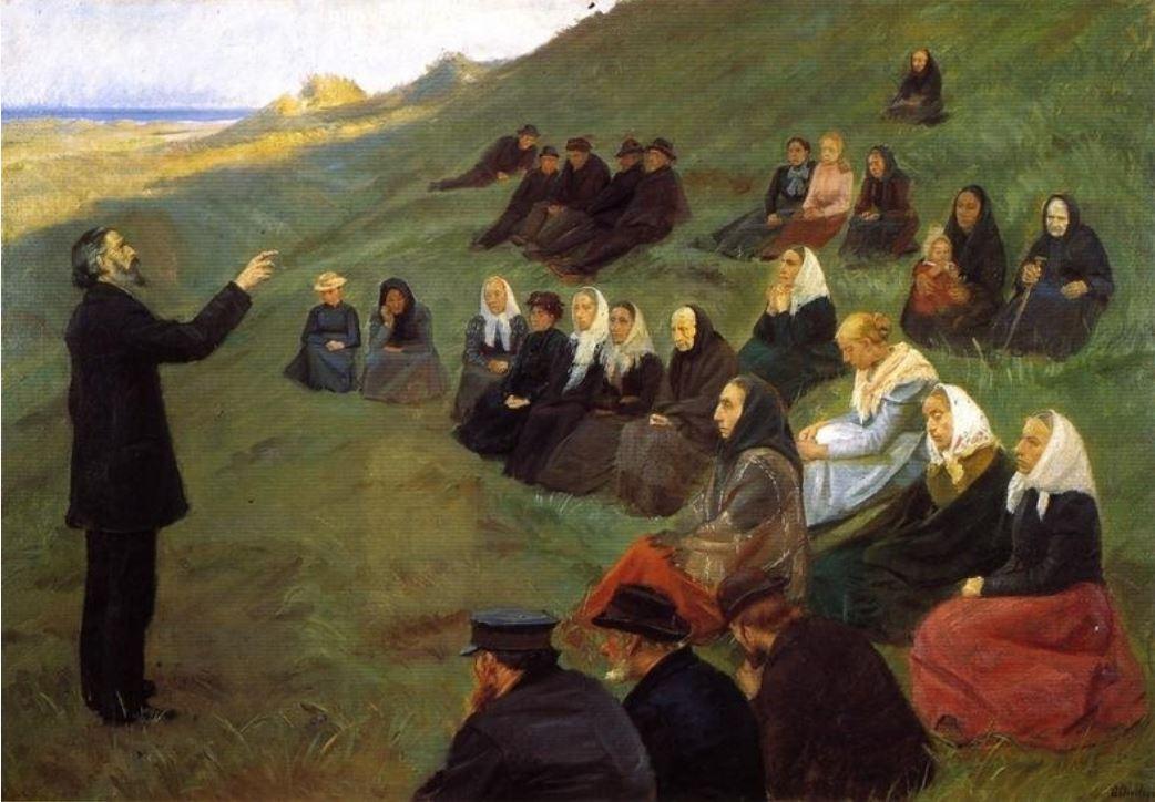 Анна Анкер Миссионерская встреча