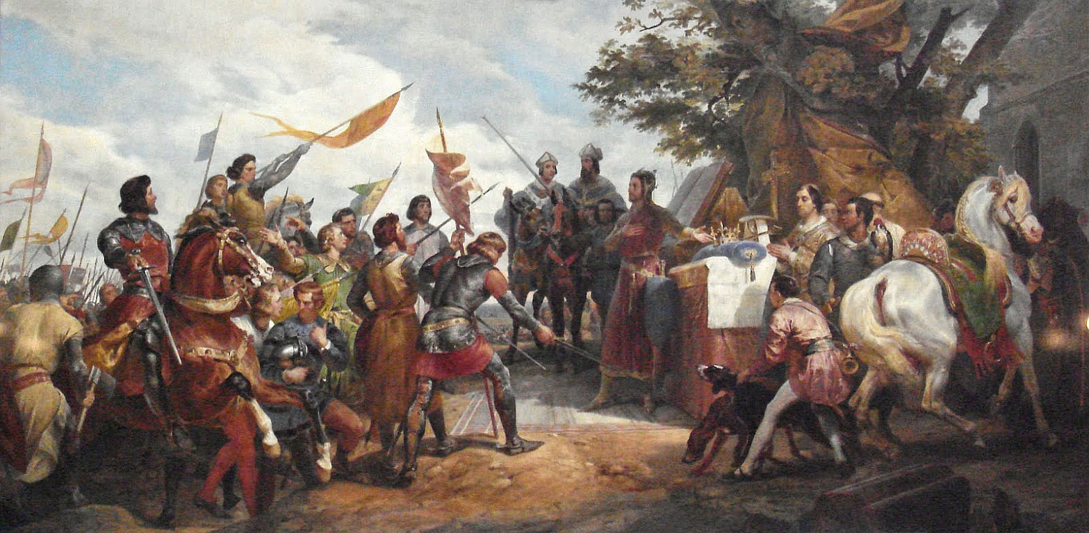 Битва при Бувине Орас Верне